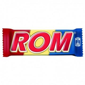 Ciocolata Rom Autentic, 30 g