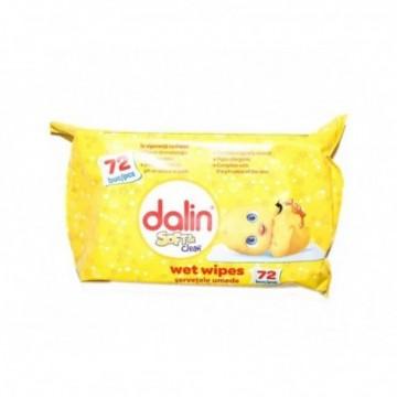 Servetele umede Dalin, 72...