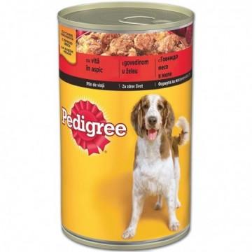 Conservă Pedigree Vită, 400 g