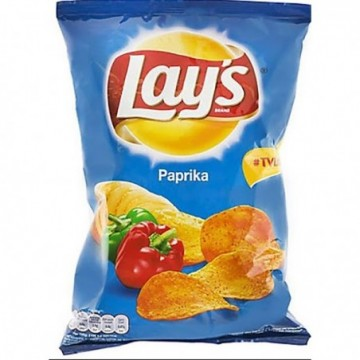 Chipsuri cu paprika, 65 g,...
