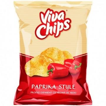 Chips cu gust de paprika,...