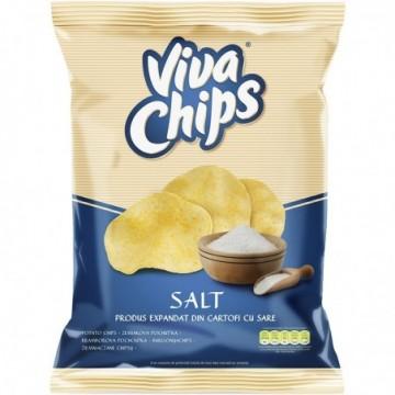 Chips cu sare, 100 g, Viva