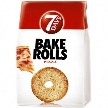Rondele de pâine crocantă...
